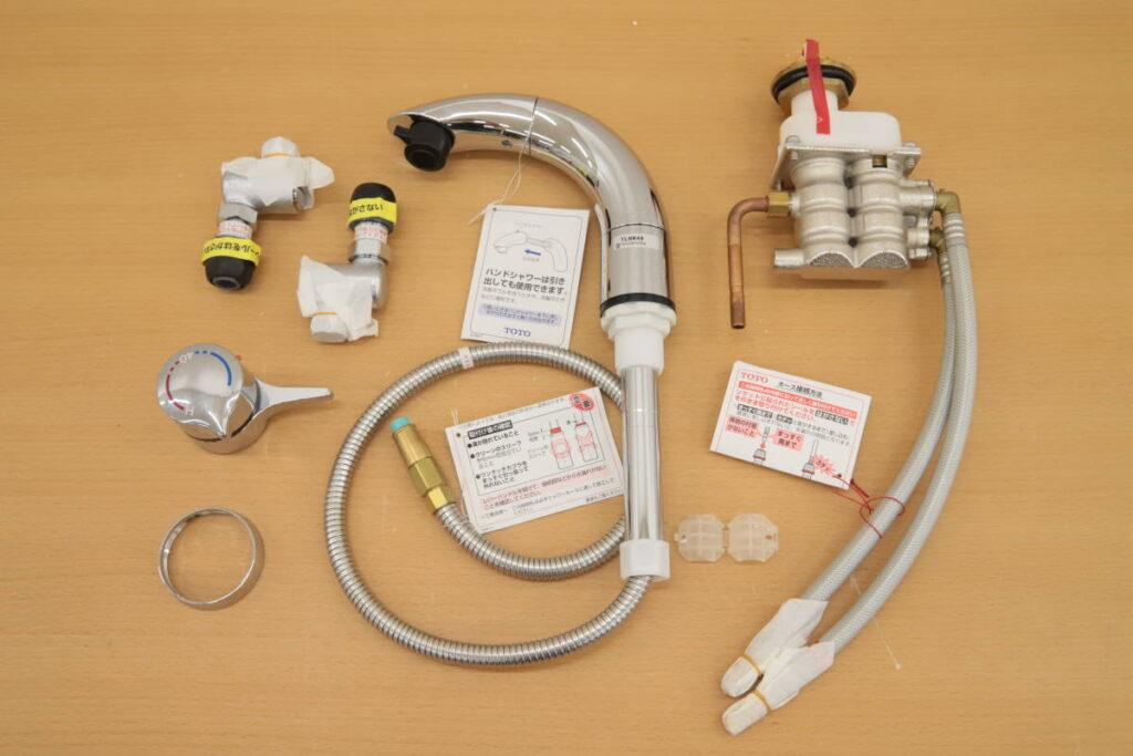 未使用 TOTO サーモスタット混合水栓 洗面所 TLNW46 (2019年6月買取) 買取価格3,000円
